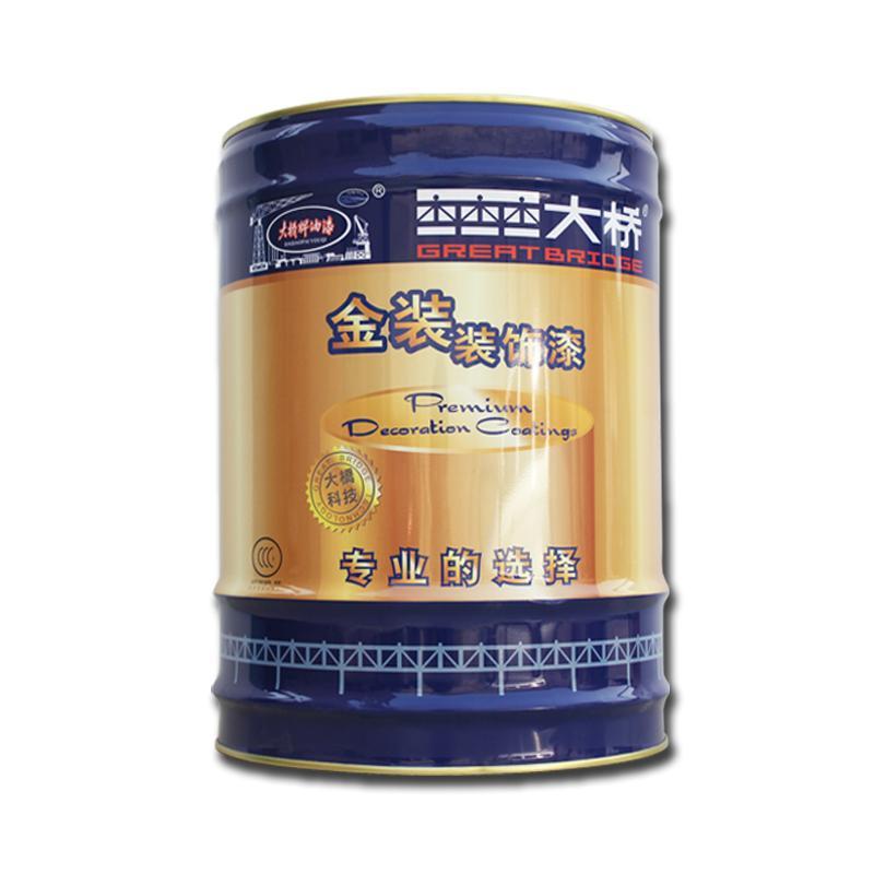 大橋丙烯酸聚氨酯面漆 鋼結構廠房儲罐機械設備建築油漆塗料 1