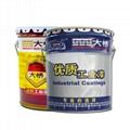 大橋有機硅耐高溫漆 鍋爐管道烘箱機械設備石油化工油漆塗料 4