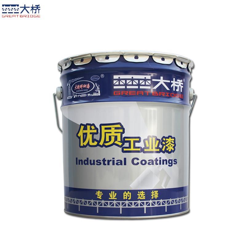 大桥油漆 钢结构储罐车辆管道防锈涂料 钢结构防锈漆  3
