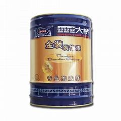 大橋油漆 化工廠房鋼結構儲罐管道防鏽塗料 環氧鐵紅防鏽底漆