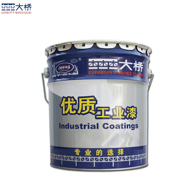 大橋油漆 化工廠房鋼結構儲罐管道防鏽塗料 環氧鐵紅防鏽底漆 4