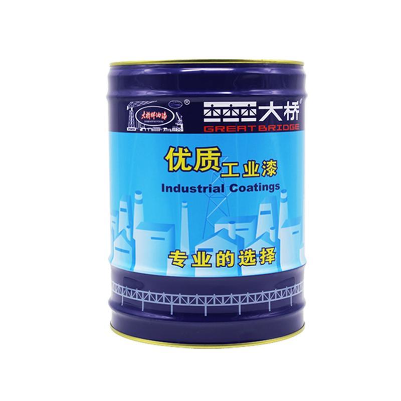 大橋油漆 化工廠房鋼結構儲罐管道防鏽塗料 環氧鐵紅防鏽底漆 5