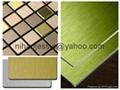 Brushed coated aluminum coil PE coating