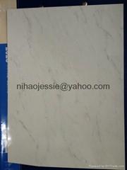 PVDF coating white marbl