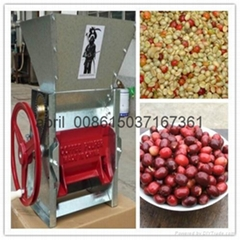 Best selling coffee bean huller machine
