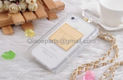 Channel No.5 3D Perfume Bottle case with Chain for iPhone 5S/5G 4S/4G i9500