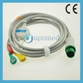 Infinium One piece 3-lead ECG Cable with leadwires