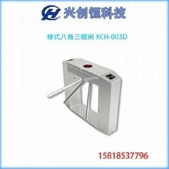 桥式八角标准三辊闸XCH-003