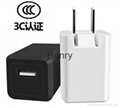 Single and double USB phone charger