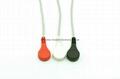 Holter-3导联分线,DIN式连接器插头,美标 2