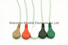 Holter-5導聯分線,DIN式連接器插頭,美標