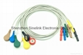 Holter cables, 7 leads, DIN Plug, IEC