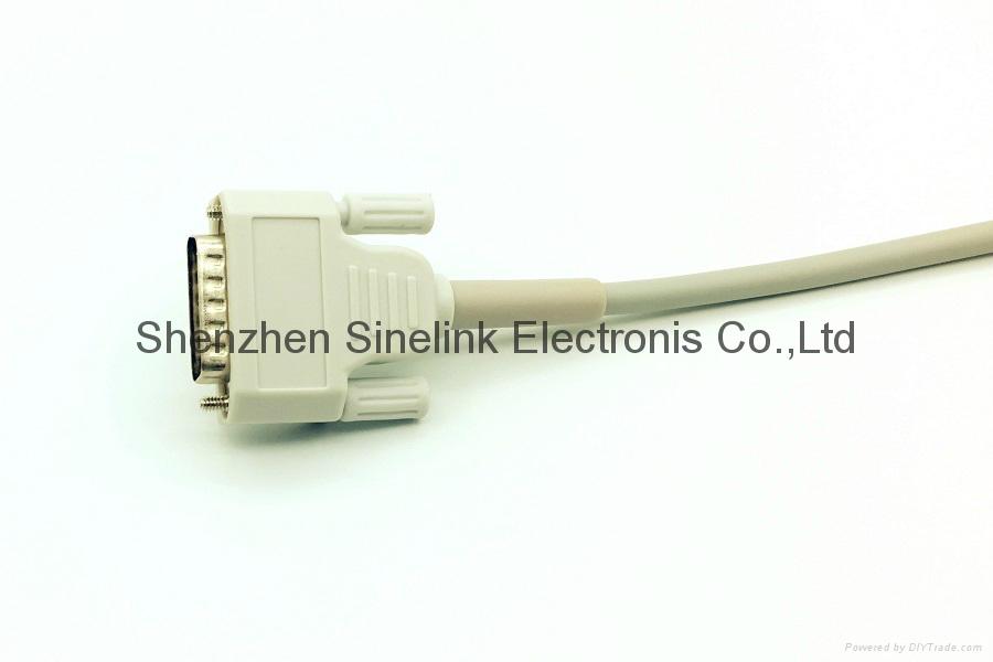 日本光电®心电图机十导联线-香蕉插头式 4