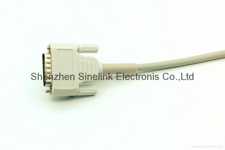Nihon Kohden® One Piece EKG Cable With 10 Leadwires 4