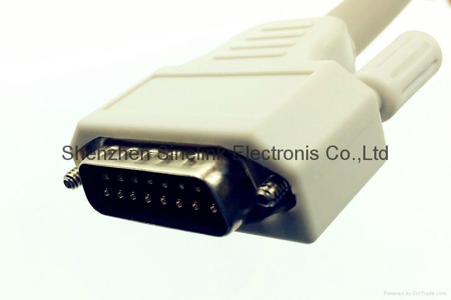 日本光电®心电图机十导联线-香蕉插头式 3