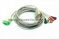 GE/馬奎一體5導聯線,扣式電