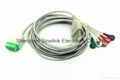 GE Marquette ECG Cable with 5