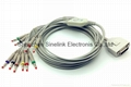 FUKUDA ME One Piece EKG Cable with 10