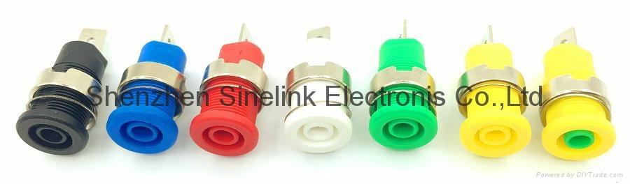 Panel Socket, fit to Φ4.0mm Banana plug 1