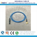 EEG electrode cable,Φ10mm Cup, DIN