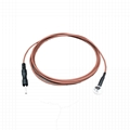 Pin 2mm Pure Si  er-coated  Cup Electrode Wire for EEG/EMG 10