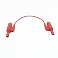 Safety Din42802 1.5mm Male Socket to 1.5mm Male Plug EEG Extension Cable 4