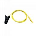 耳夾電極-黃色線