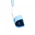 Philiips 8pin adult finger clip reusable SPO2 sensor 4