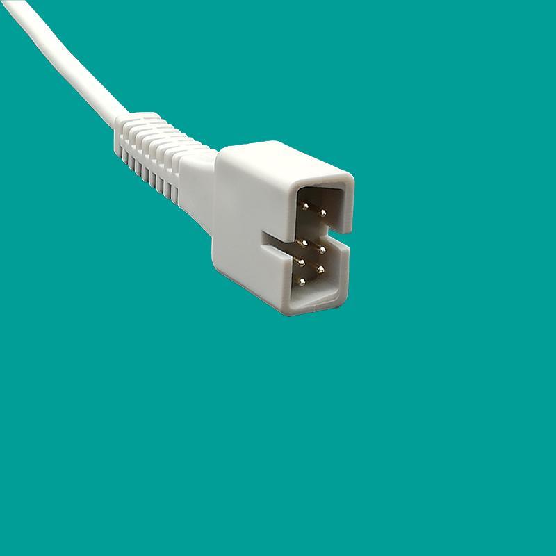 Reusable Nellcor 7 pin adult silicone soft oximax spo2 sensor 1