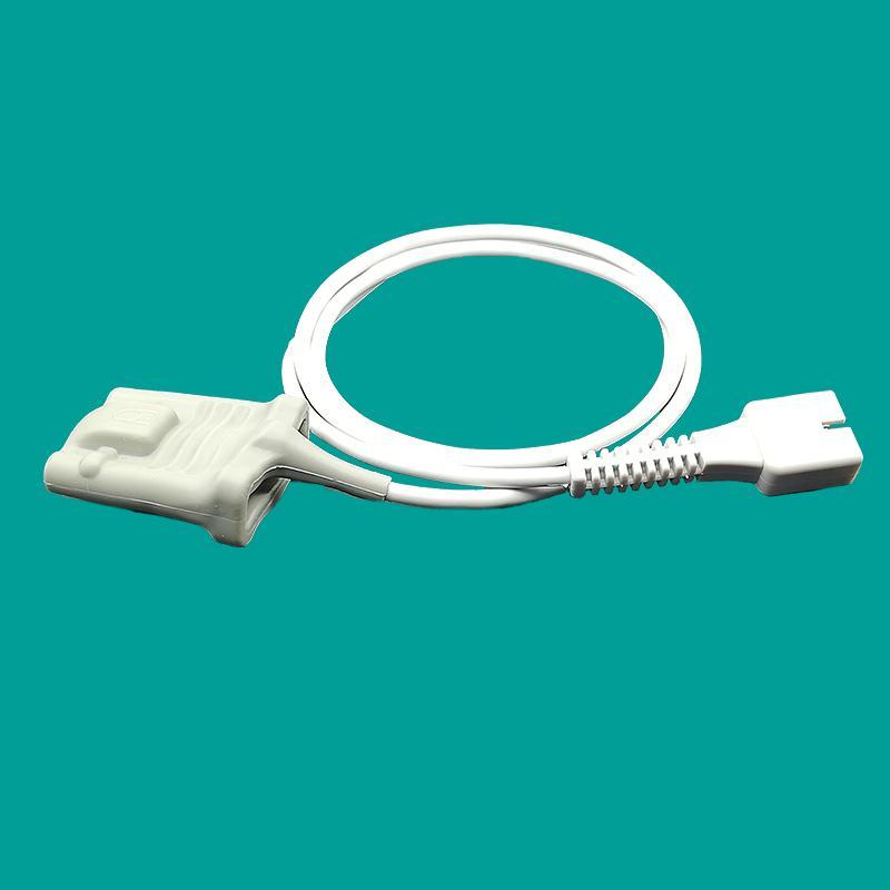 Reusable Nellcor 7 pin adult silicone soft oximax spo2 sensor 2