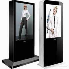 46-inch LCD Advertising players support network outdoor stand Android system