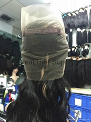 360 lace wigs virgin rem