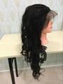 body wave 360 lace closure virgin human hair tangle free no shedding 3