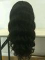 body wave full lace wigs virgin brazilian human hair density 120% 3