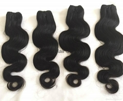 10a grade body wave virgin remy cuticle human hair weft tangle free no shedding