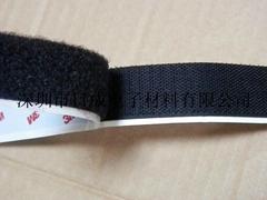 3M SJ3526/3527 Black Velcro Tape Hook And Loop