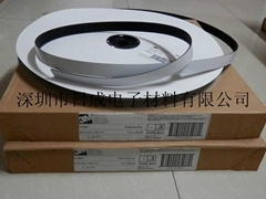 3m SJ3541 black velcro tape 250 mushrooms dual lock reclosable fastener tape
