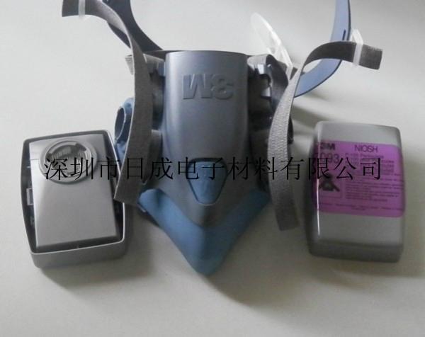 3M 7502 Half Mask / Medium Size original 3M Face Mask 7502 3