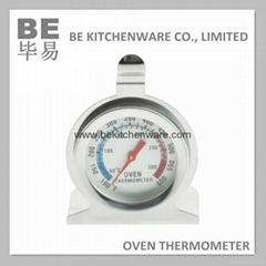 高性能雙金屬披薩烘焙烤箱溫度計