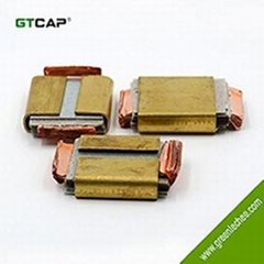 high frequency si  er mica paper capacitor