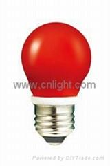 LED colorful bulb light Christmas