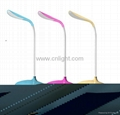 Green healthy LED table lamp backup