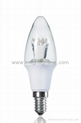 high quality LED candle light and bulb light