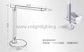 Green healthy LED table lamp desk light backup battary USB connector 2