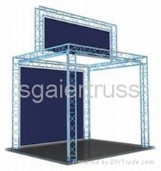 Aluminum exhibition truss booth