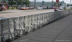 China Crowd control barrier Aluminum barrier stage barrier fencing folding barri