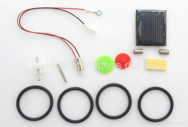 14 IN 1 Solar Robot kit ,DIY Toys for kids 3