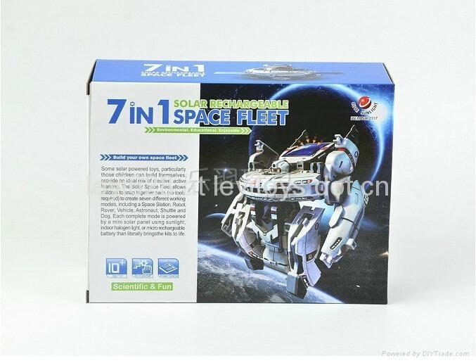新七合一太陽能太空艦隊(自裝型玩具) 3
