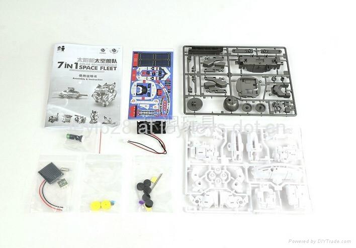 新七合一太陽能太空艦隊(自裝型玩具) 5
