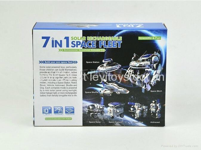 新七合一太陽能太空艦隊(自裝型玩具) 4
